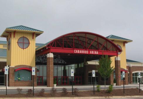 Cabarrus Arena Amp Events Center Thorburn Associates